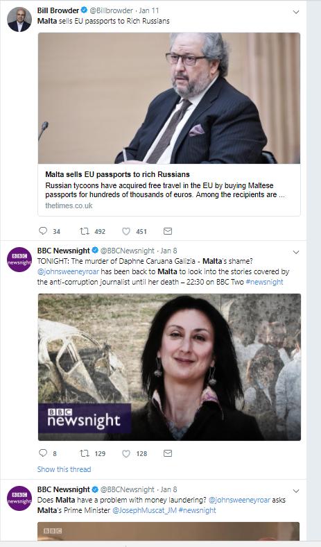 Malta shaming