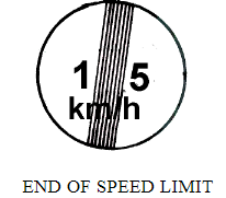 End of Speed Limit